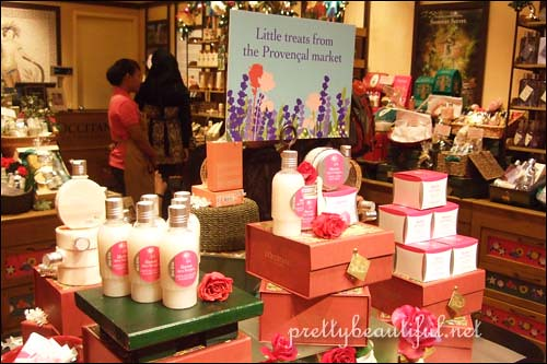 L'occitane Winter Rose Set