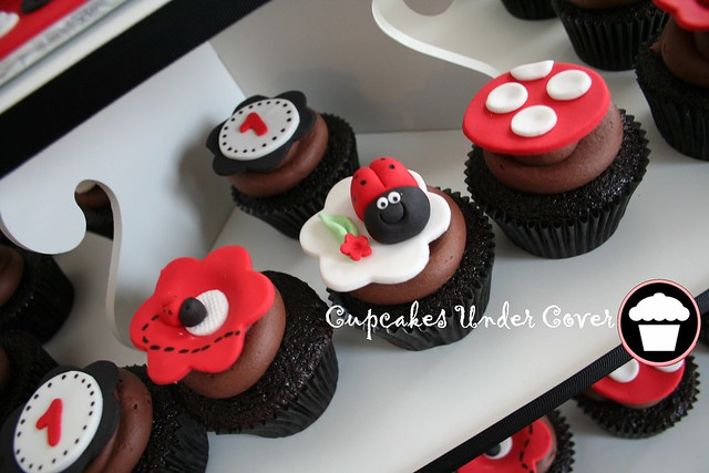 Lady bug theme cups