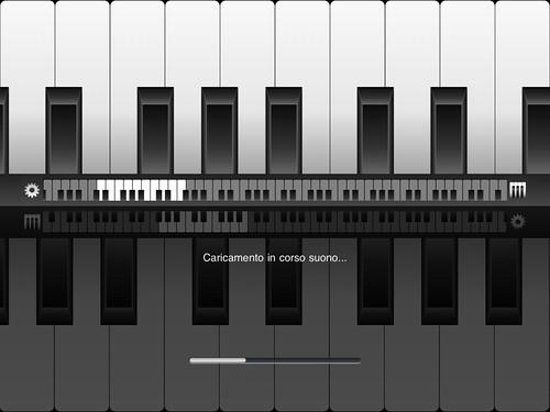 Nano Keyboard Lite - Caricamento ottava