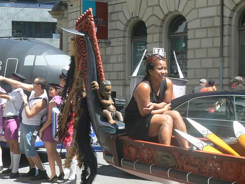 A Waka on wheels.