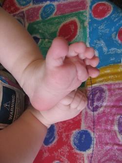 Reuben's Baby Feet
