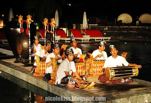 balinese band playing