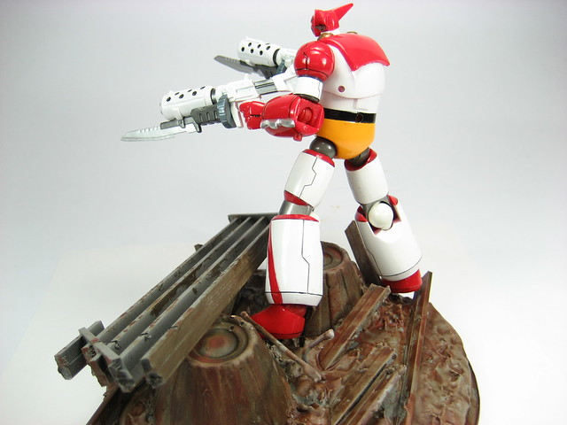 Revoltech Getter 1 from Change! Getter Robo