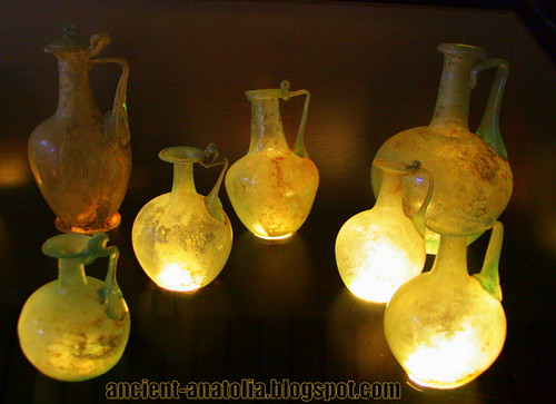 Roman Glass Work at Cankiri Museum