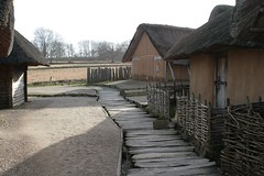 Die Wikinger Häuser Museum Haithabu WHH 08-02-2011