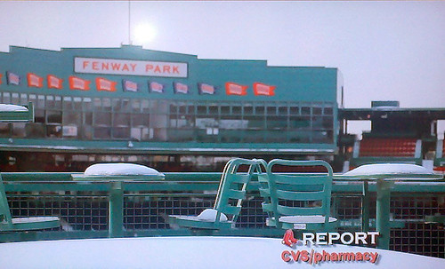 Wintry Fenway - Red Sox Report