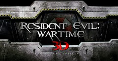 resident evil 5: wartime official logo (teo nikolas) Tags: umbrella claire 3d jill 5 evil valentine 2012 wartime milla jovovich resident redfield
