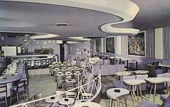 "Johnina Hotel's World Famous ""Dream Bar"" Miami Beach FL (hmdavid) Tags: vintage hotel florida miami postcard 1950s miamibeach dreambar johnina"