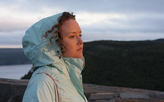 Warmth (Loops666) Tags: woman person girlfriend wife partner jacket coat signalhill newfoundland stjohns