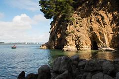 Lenga, Chile (lesantiagou) Tags: chile ocean beach cave boat sunlight summer pentax