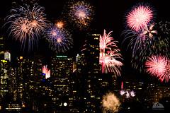 Canada 150 - Toronto, Ontario (Richard Adams Photography) Tags: fireworks canada150 toronto ontario cntower ontario150 nikon d7100 night longexposure canadaday the6ix 6ix
