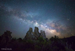 Milky Way Over The Tufas of Mono Lake (Mimi Ditchie) Tags: easternsierra milkyway monolake stars astrophotography tufa tufas southtufa celestial galacticcenter galaxy milkywaygalaxy night starrynight