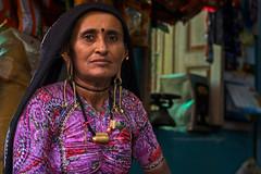 Rabari woman Nakhatrana. Kutch. Gujarat. India. (Tito Dalmau) Tags: street portrait woman rebari nakhatrana kutch gujarat india