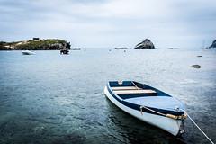 The (Little) Boat (Matthieu Manigold) Tags: the little boat cadaques spain sea mer bateau barque ile island nuage colour beautiful lonely quiet