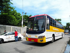 Yellow Bus Line 2508 (Monkey D. Luffy ギア2(セカンド)) Tags: bus mindanao philbes philippine philippines photography photo enthusiasts society road vehicles vehicle hino