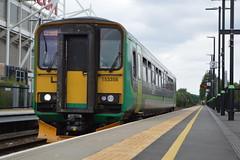 153356 (Lewis_Hurley) Tags: dieselmultipleunit dmu diesel passenger uk england coventry coventryarena station railroad dogbox railway londonmidland class153 153 153356