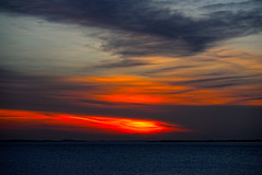 Flames in the East (alan.irons) Tags: humber sunrise flames east estuary clouds dawn morning morn sky reds orange