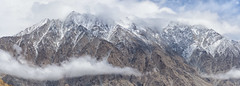 Snow clad Peaks of Ladakh  -In between Nubra   Khardung La (@nikondxfx (instagram)) Tags: 2017 d750 jk june ladakh landscape leh nikkor nikon tamron tourism tourist travel snowclad nubra khardungla pass nikon24120f4 fullframe panoramic merging flickrtravelaward