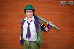 IMG_1794.jpg (Neil Keogh Photography) Tags: gloves tie dccomics theriddler shirt bowlerhat pants tv jacket questionmark videogames film male boots purple batman suit manchestersummerminicon cosplay cosplayer black green glasses comics walkingcane white
