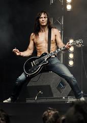 Axe Man (Negative Vibes) Tags: music guitar heavymetal rocknroll guitarist highvoltage axeman audreyhorne hellolondon icedare