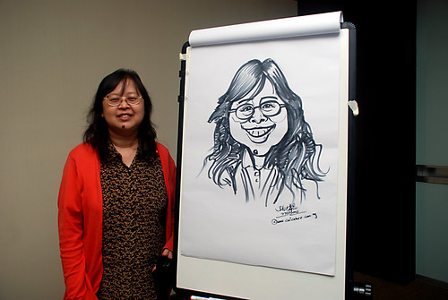 Caricature Workshop for AIA Robinson - Day 2 - 11