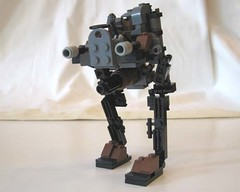 Updated Steam Mech (The Lego Man in the Hat) Tags: new punk lego thing machine steam walker vehicle improved mech