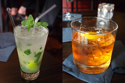 Mojito & Old Fashion at Eastside Inn bar