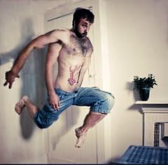 Like a Pen (52-33) (Dampkring) Tags: selfportrait me jump step change 52 theknife altrafotografia