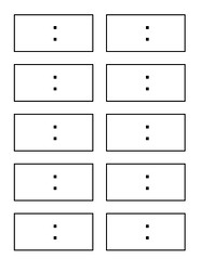 Displaying 20> Images For - Blank Digital Clock Template For Kids...