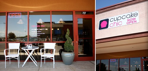 Cupcake Chic Cupcake shop and bakery in orem utah