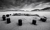 Bolts & Rope, Blyth Beach (Alistair Bennett) Tags: beach mono coast northumberland blyth seatonsluice minihenge canonefs1022 gnd09he boltsrope