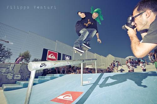 Skateboard Society al Concrete Skatepark di Osimo