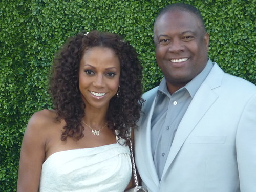 Holly Robinson Peete and Rodney Peete by you.