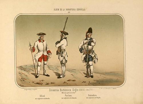009- Álbum de la Infantería Española..-1861- conde de Clonard