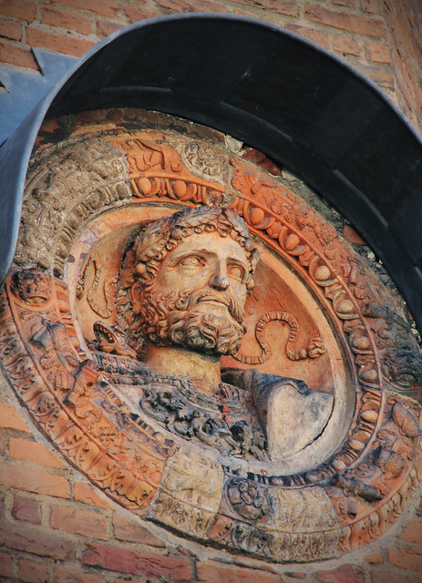 Round plaque of Hadrian