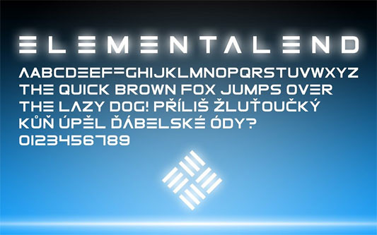 ElementalEnd - Tipografía