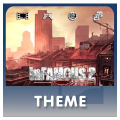 inFAMOUS 2 theme thumbnail
