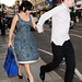 Lily Allen and Sam Cooper out in London