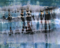 Walking_in_the_street (tkikot) Tags: signs abstract art colors painting colours arte handmade drawing creative jersey draw dye astratto disegni colori disegno visualart astratta creativo surreale tessuto tintura abstracting sperimental tkikot graphicmaster