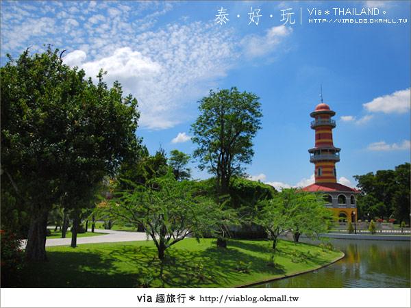 【泰國旅遊】大城之旅|泰皇的渡假聖堂~芭茵夏宮37