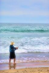 The Fisherman (Lisa Drummond) Tags: california fisherman torreypines lajolla beaches
