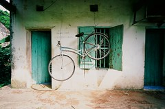 (NateVenture) Tags: leica travel color film bike bicycle rangefinder slide vietnam adventure exploration m2 summilux asph rf halongbay catbaisland 3514 velvia50  vitnam catbatown catbanationalpark rvp50 hlong ctb leica35mmf14summiluxmasph qunoctb
