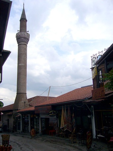 P1040813  Ahi Elvan Camii, minaret