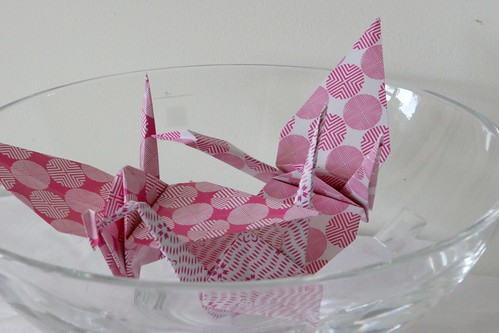 Pink and pretty cranes