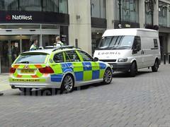 BMW 330d Estate West Midlands Police BX58 MVH (F302) (wicked_obvious) Tags: 3 west ford birmingham estate police security transit bmw series midlands loomis f302 bx58mvh