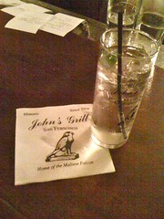 John's Grill, home of the Maltese Falcon