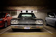 LAPD Plymouth Belvedere (Samer Farha) Tags: 1969 washingtondc garage plymouth dcist belvedere lapd losangelespolicedepartment welovedc dcregistrationhistoricmotorvehiclehmv1430 81489