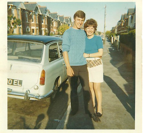 Brian and Cheryl,  Bournemouth 1968