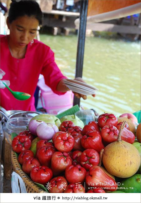 【泰國小吃】泰好吃~大城水上市場美味小吃呷通海!17