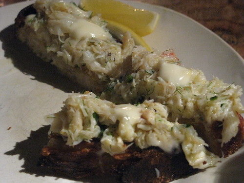 ABC Kitchen's Peeky Toe Crab Toast